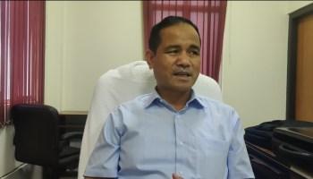 Public Health Engineering (PHE) minister Renikton Lyngdoh Tongkhar