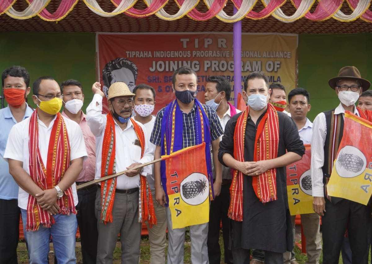 Tripura: 10 days after exit from IPFT, MLA Brishaketu Debbarma joins TIPRA