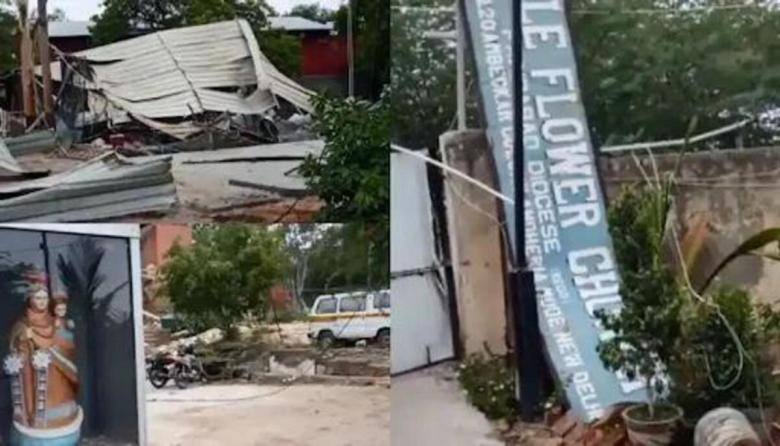 North East Bishops condemn Church demolition in Delhi