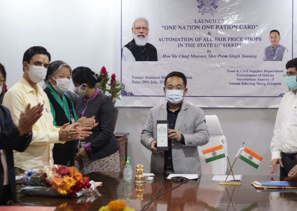 'One Nation One Ration Card' violates Article 371F? Sikkim Oppn leaders speak out