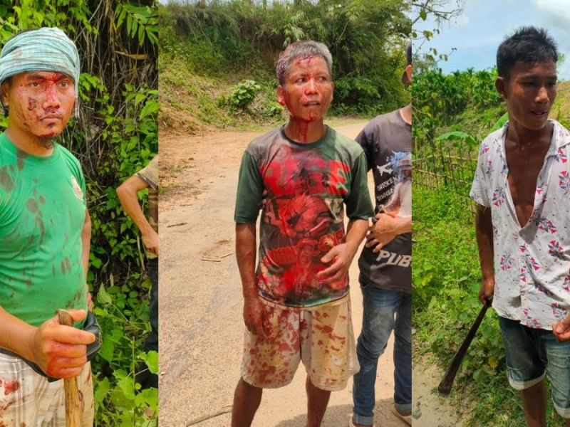 Members of Chorai tribe, who fled to Assam over clash, return to Tripura