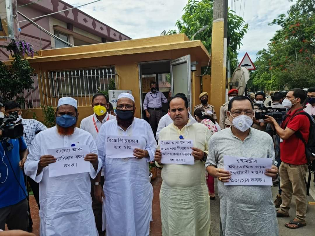 Opposition walks out of Assam assembly over price rise