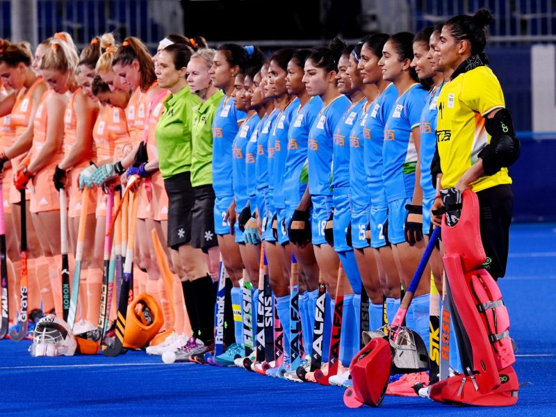 India women lose 1-5 to Netherlands in Olympic hockey opener