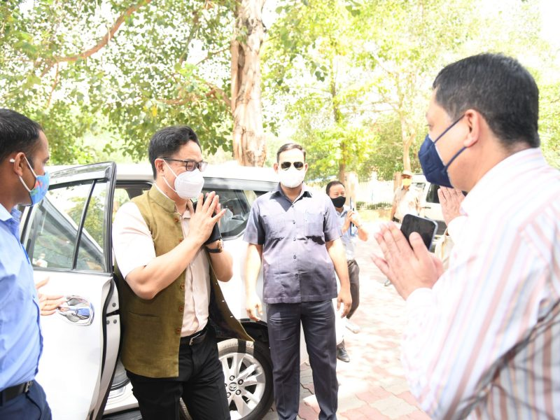 India's journey to be great sporting nation will continue: Outgoing sports minister Rijiju