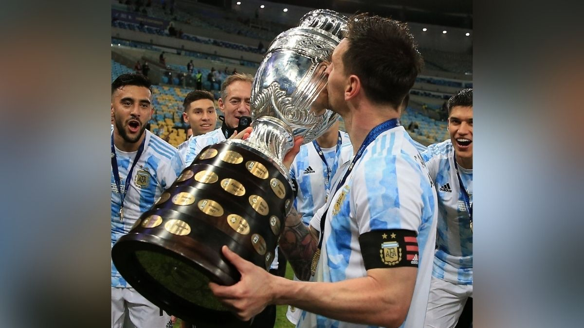 GOAT debate over; Fans Rejoice Messi's win