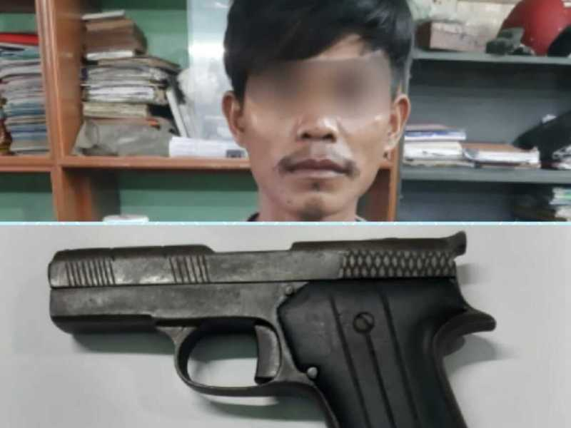 Nagaland man borrows pistol to woo girl, held for illegal possession of arms