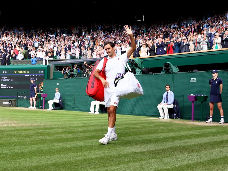 What 8-time Wimbledon champ Roger Federer said after shock quarter final exit