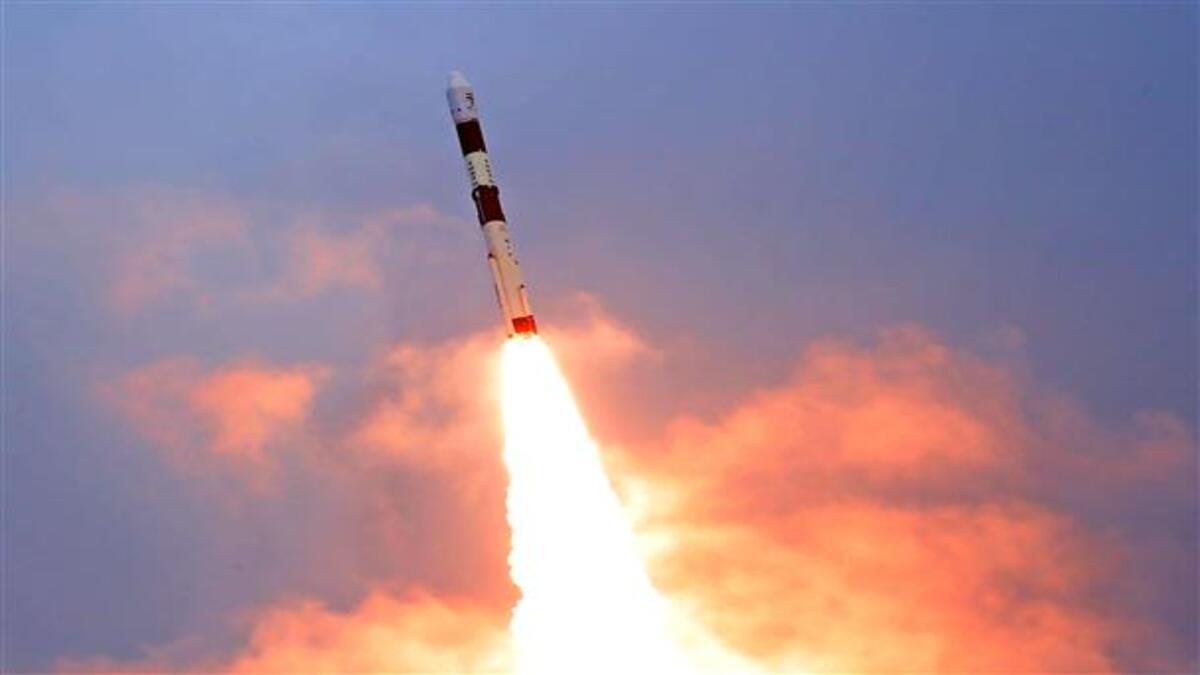 ISRO: Countdown for launch of EOS-03 satellite begins