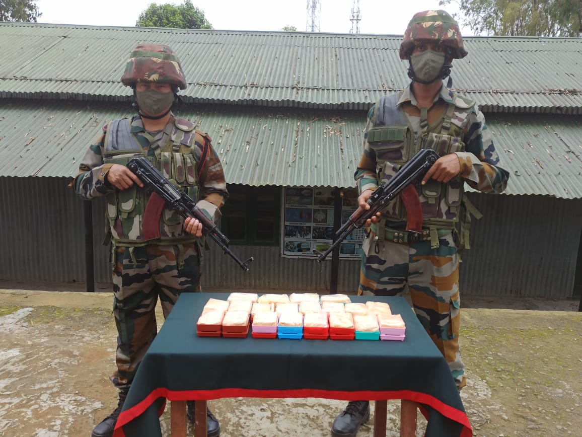 Heroin worth Rs 1 core recovered in Mizoram