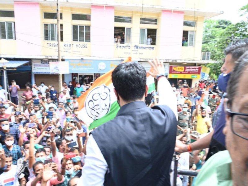 Abhishek Banerjee in Tripura