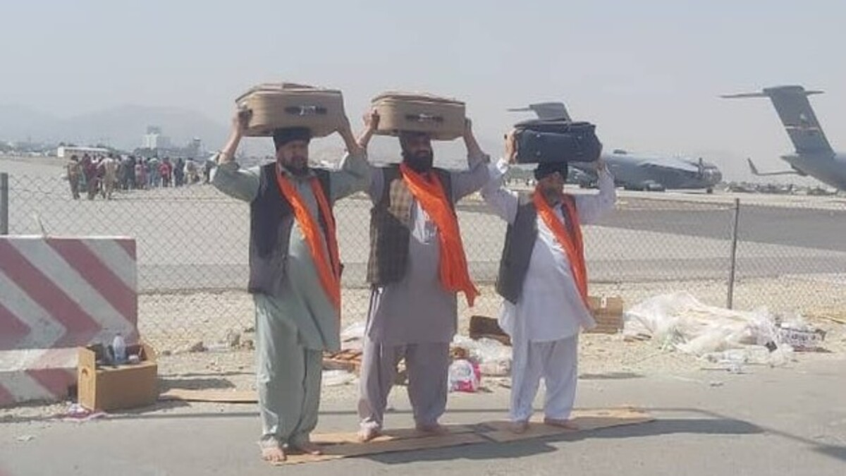 3 copies of Sikh scripture, 44 Afghan Sikhs flown in from Afghanistan
