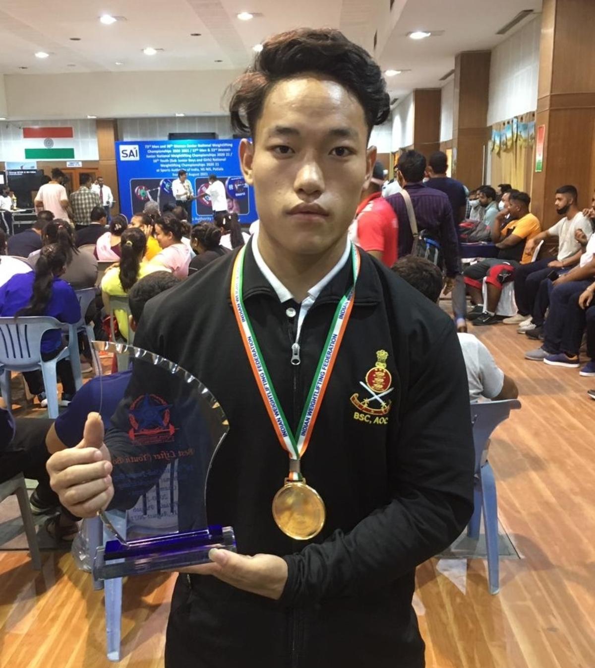 Arunachal weightlifter championships