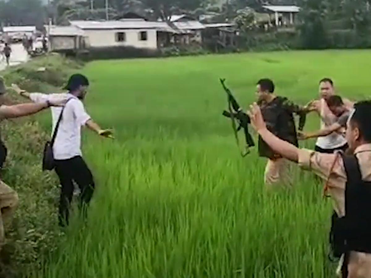Watch: Assam, Meghalaya Police clash again at state border