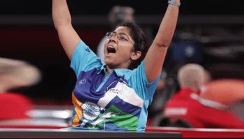 Paddler Bhavinaben Patel wins historic silver at Tokyo Paralympics