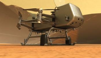 NASA Dragonfly rotorcraft