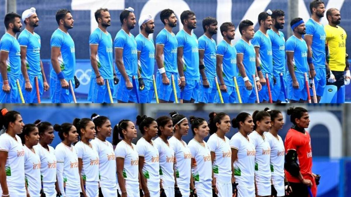 Indian men's, women's hockey teams achieve best-ever world rankings