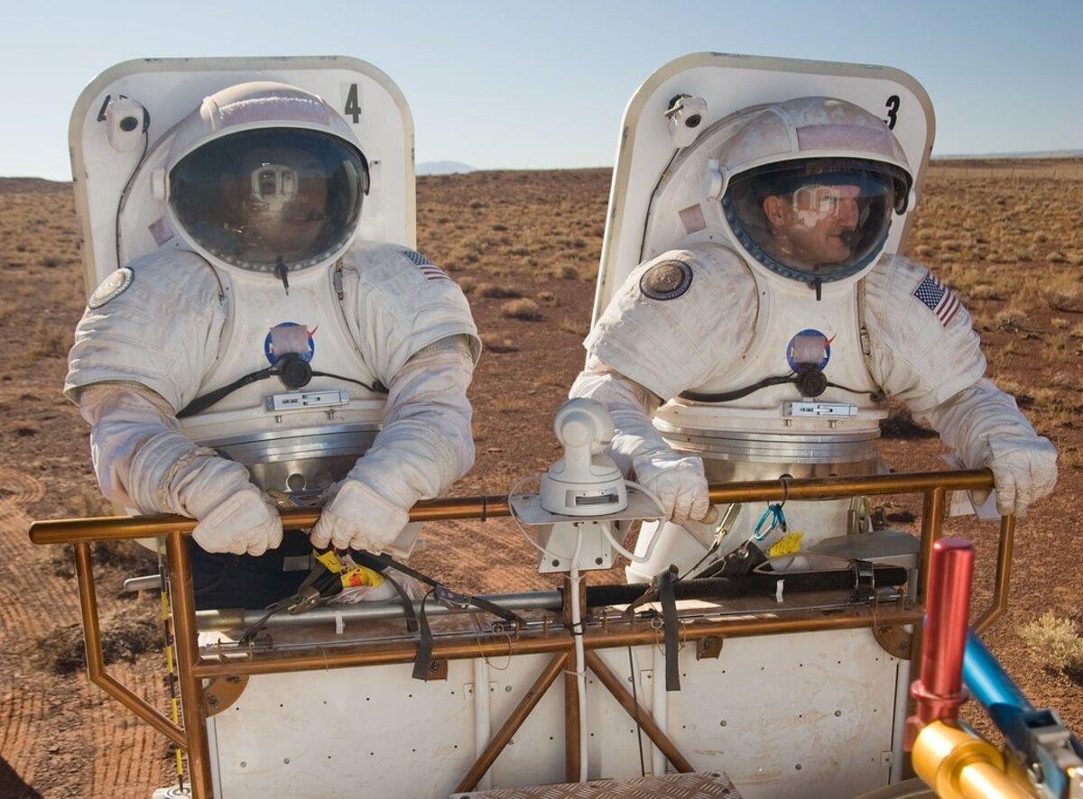 Mars simulation/@NASA