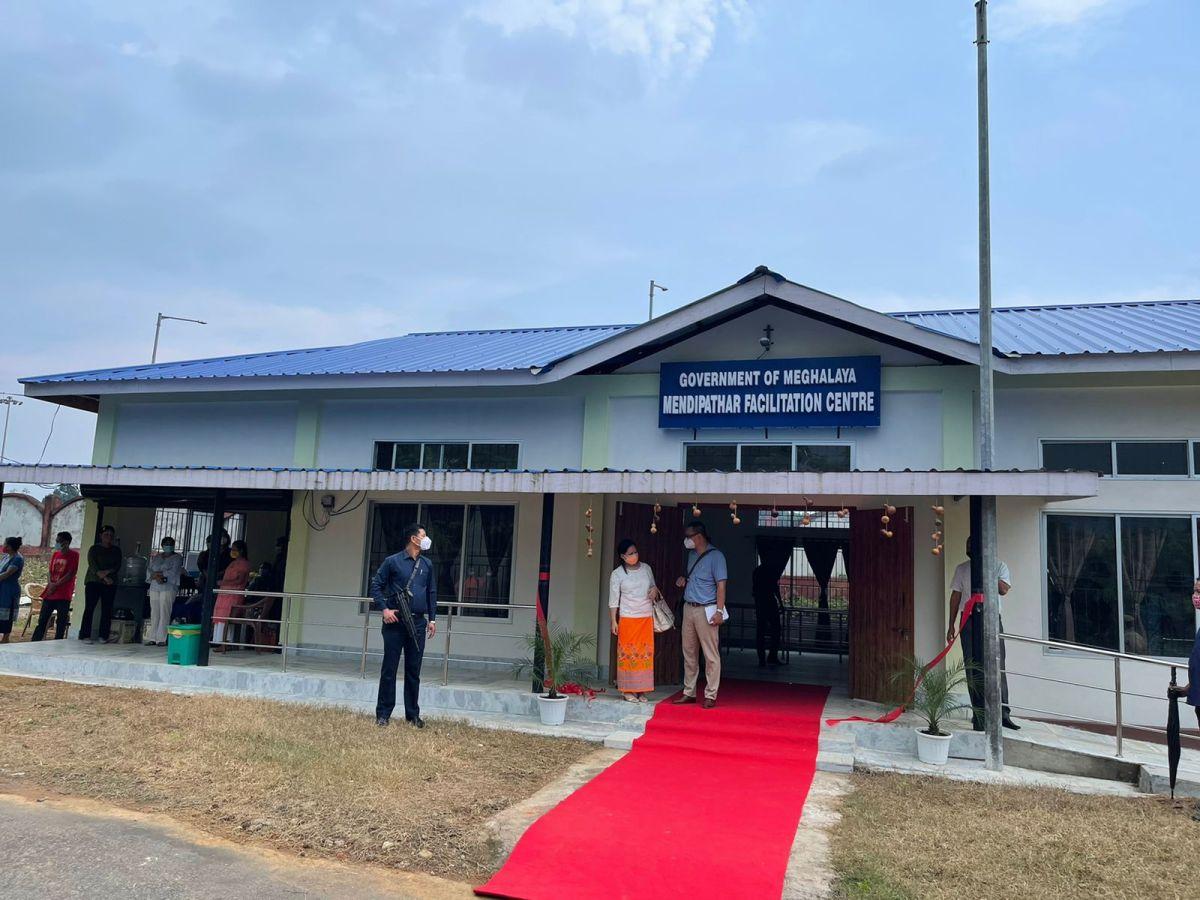 Meghalaya CM inaugurates facilitation centre at railway station to track visitors