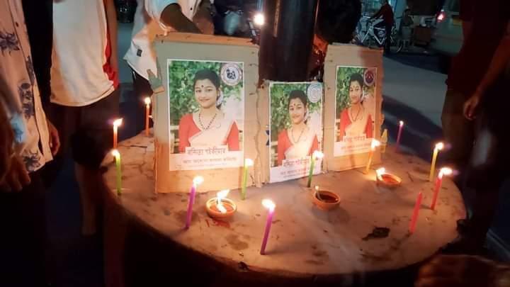 Nandita Saikia machete attack victim