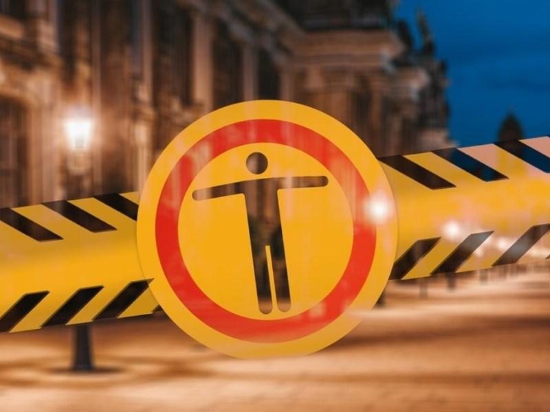 Partial lockdown in Aizawl