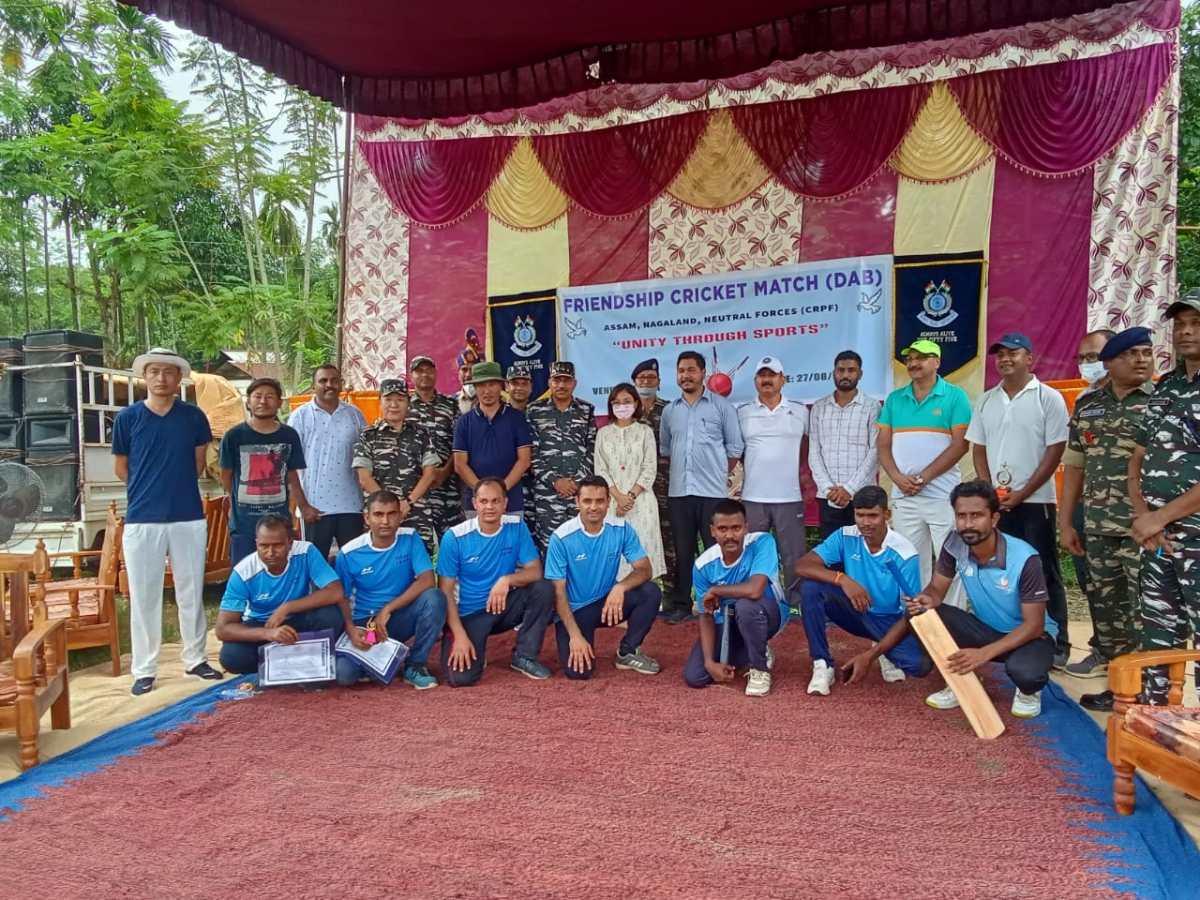 Nagaland, Assam renew friendship & harmony along border through cricket match