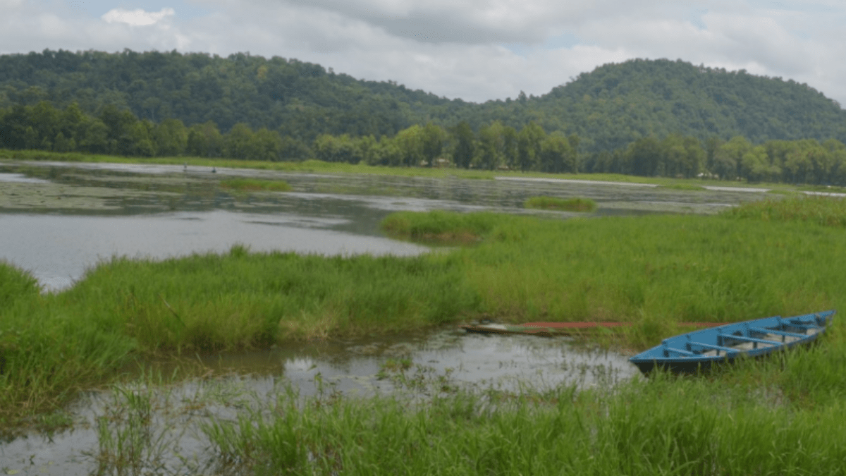 Illegal sand mining a threat to the shrinking Chandubi lake
