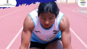 Dutee Chand finishes last in 200m heat race, fails to qualify for Olympic semis