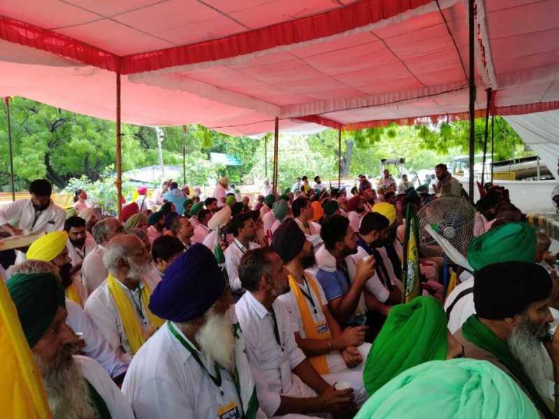 Farmers from Assam, Odisha join 'Kisan Sansad': SKM