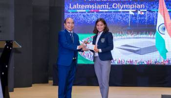 Olympian Lalremsiami's achievement will revive interest in hockey: Mizoram CM