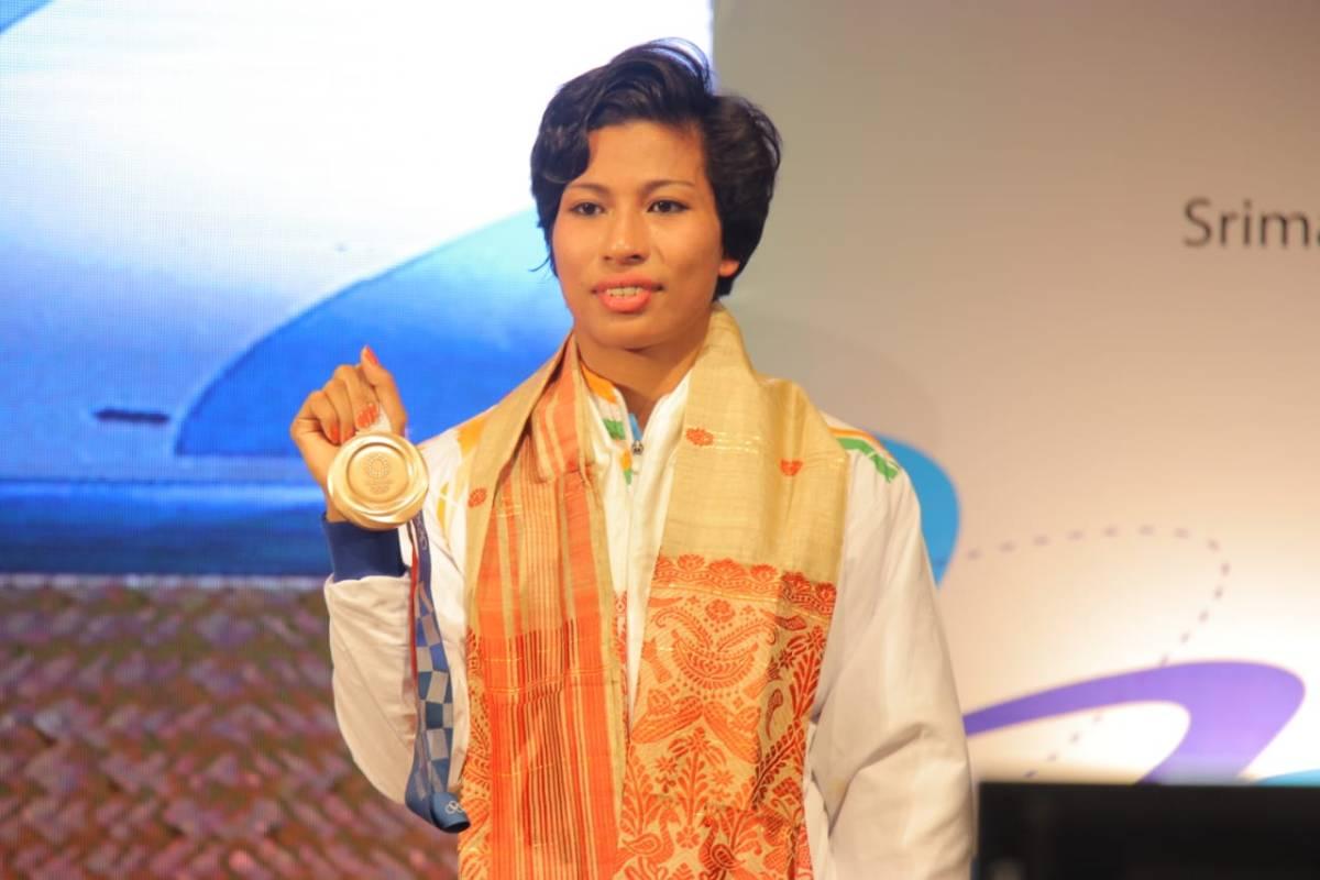 Assam presents Rs 1 crore to Olympic star Lovlina Borgohain, offers deputy SP's post