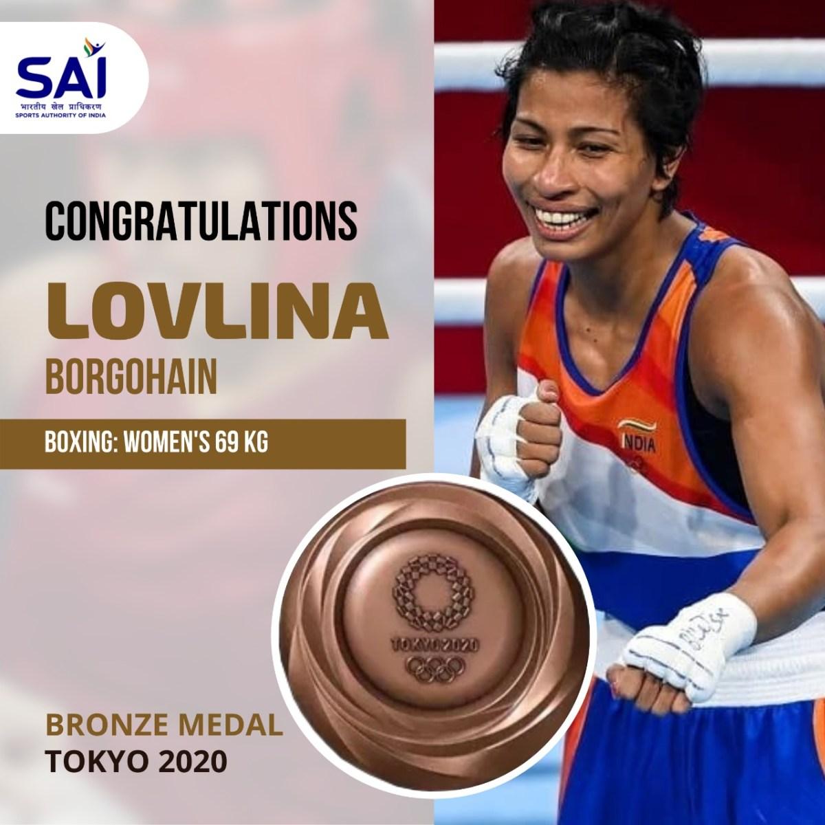 Lovlina Borgohain loses semi-finals, wins Bronze