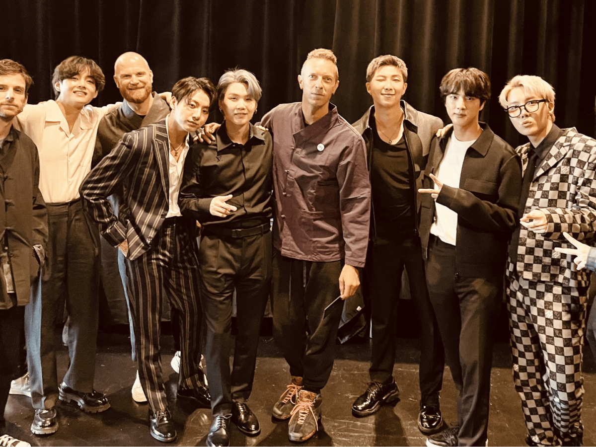 BTS and Coldplay release the highly-anticipated track 'My Universe'