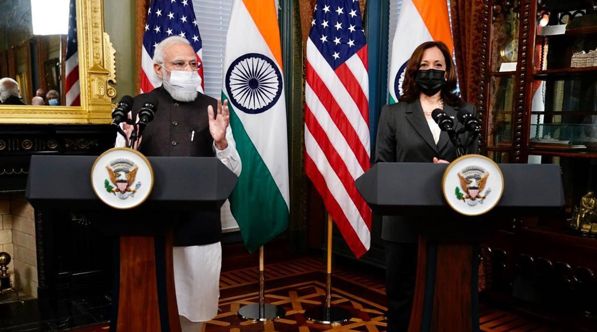 PM Modi meets US VP Kamala Harris; discusses bilateral ties, Indo-Pacific