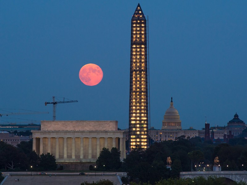 Harvest Moon NASA