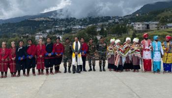 Defence MoS appreciates civil-military bonhomie at Arunachal's Tawang