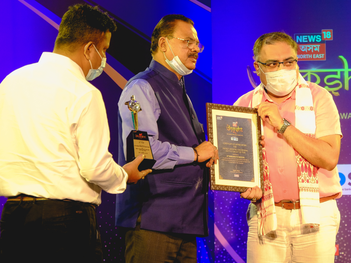 Jettwings Group of Institutes bags the Fastest Growing Educational Institute Award by reputed media