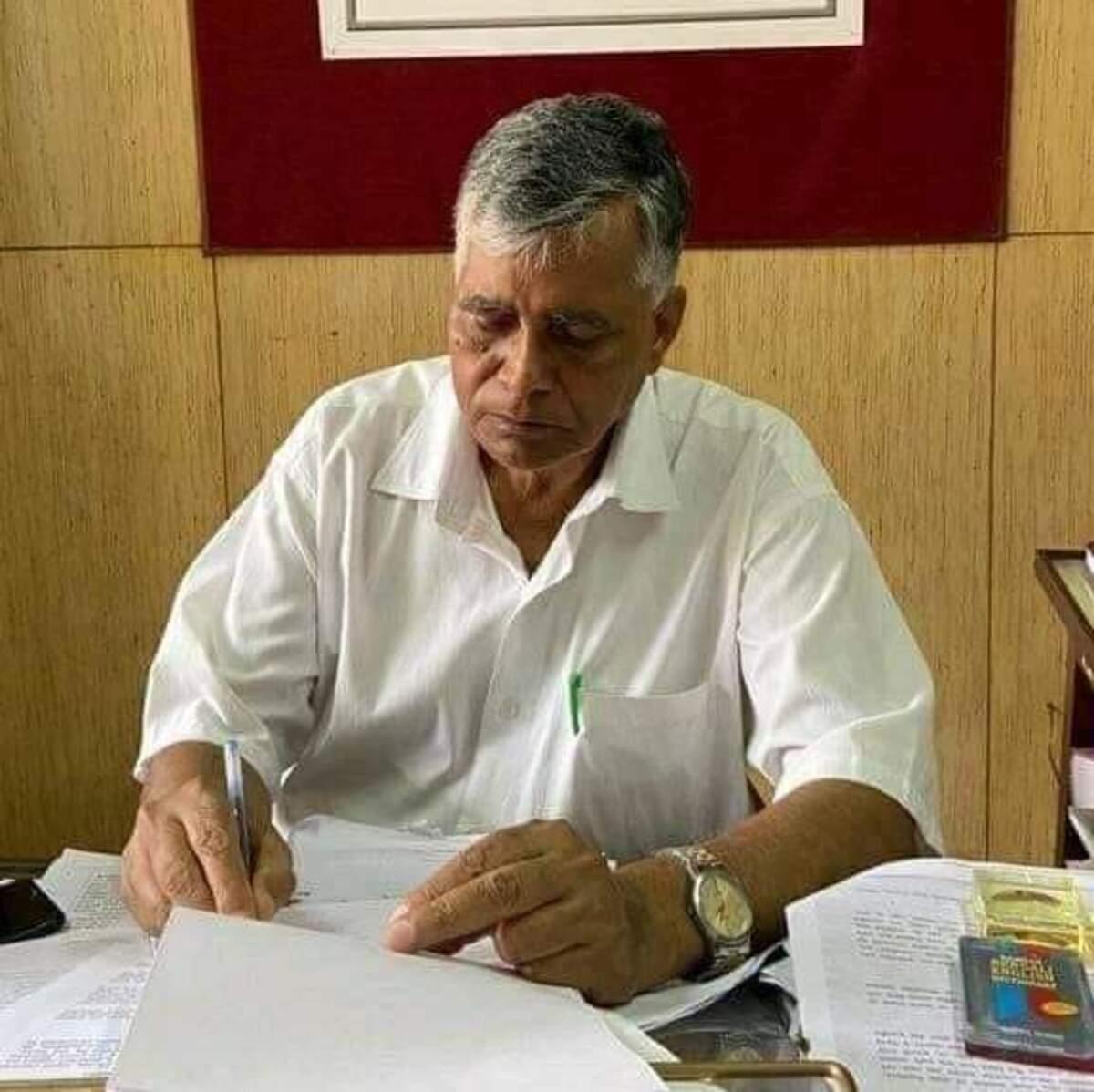 Tripura CPIM secretary Gautam Das