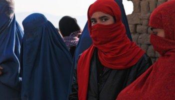 Taliban women in afghanistan