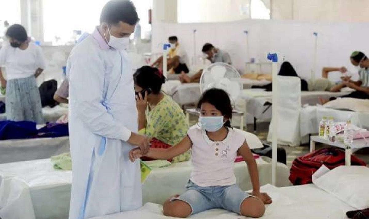 130 children hospitalised in Jalpaiguri with fever, dysentery