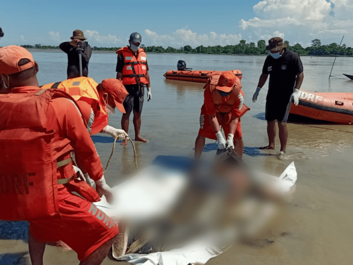 Assam boat capsize: Third body recovered from South Majuli