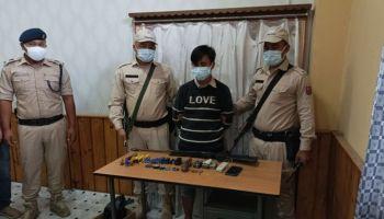 Manipur Police arrests PREPAK (Pro) militant with huge IED materials