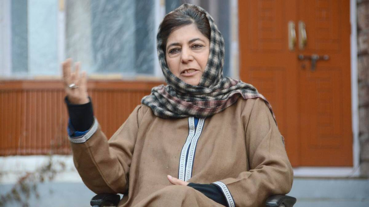Mehbooba Mufti says she is under house arrest