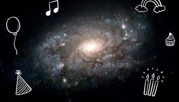NASA Hubble Birthday