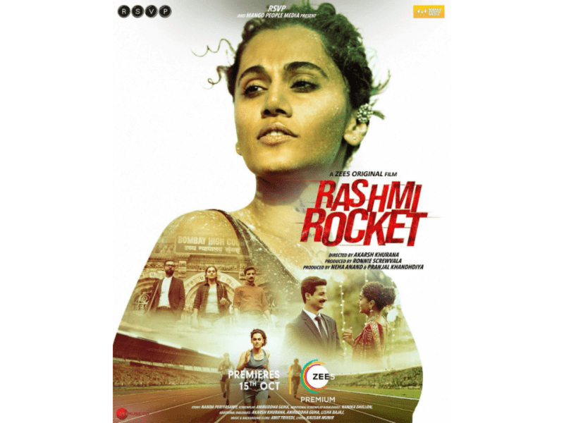 Powered by a blistering Taapsee Pannu performance, 'Rashmi Rocket' has enough power to take off
