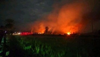 Bangladesh Arson Attack