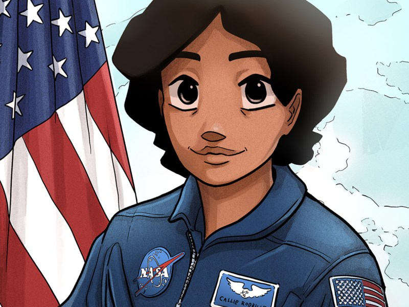 NASA graphic novel Callie Rodriguez