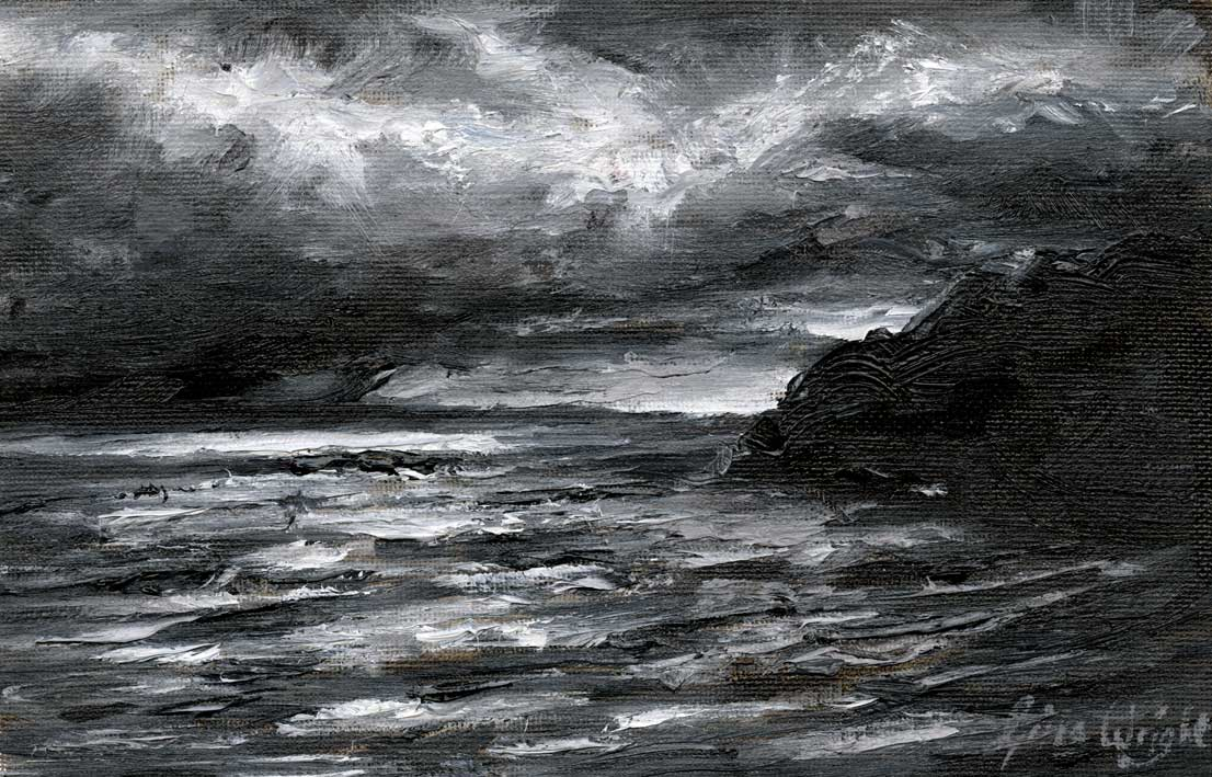 Storm Clouds, Pittenweem, Oil