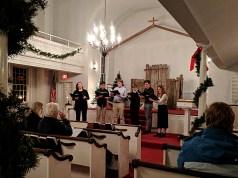 Joel Barlow Select Choir singing Christmas Carols