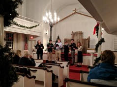 Joel Barlow Select Choir singing Christmas Carols