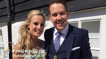 Esme and Nick Wedding Planning. Real Wedding Easton Grange